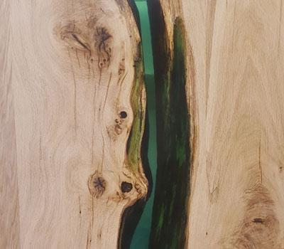 Tischplatte grün